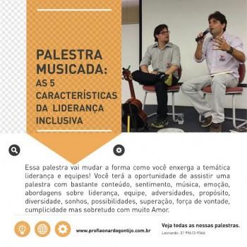 Palestra 4: Liderança inclusiva: As 5 competências da liderança inclusiva