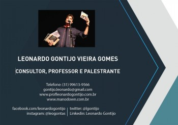 Portifólio de Palestras Leonardo Gontijo 2019/2020